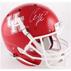 Case Keenum Signed Houston Cougars Full-Size Helmet (JSA COA)