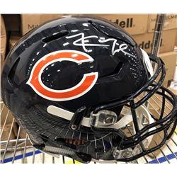 Khalil Mack Signed Chicago Bears Full-Size Authentic On-Field Speedflex Helmet (Fanatics Hologram)