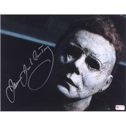 "James Jude Courtney Signed ""Halloween"" Michael Myers 11x14 Photo (PA COA)"