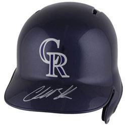 Charlie Blackmon Signed Colorado Rockies Full-Size Batting Helmet (Fanatics Hologram  MLB Hologram)