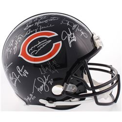 1985 Chicago Bears Full-Size Authentic On-Field Helmet Team-Signed by (30) With Mike Ditka, Mike Sin