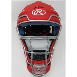 J. T. Realmuto Signed Rawlings Full Size Catcher's Mask (Fanatics Hologram  MLB Hologram)
