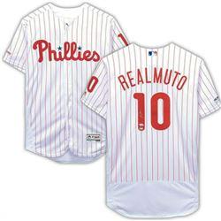 J. T. Realmuto Signed Philadelphia Phillies Jersey (Fanatics Hologram)