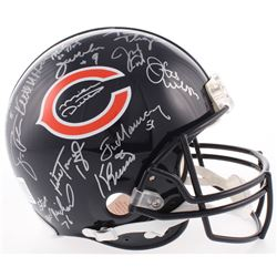 1985 Chicago Bears Super Bowl XX Logo Full-Size Authentic On-Field Helmet Team-Signed by (31) with M