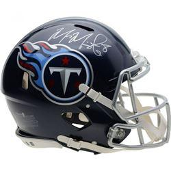 Marcus Mariota Signed Tennessee Titans Full-Size Authentic On-Field Speed Helmet (Fanatics Hologram)