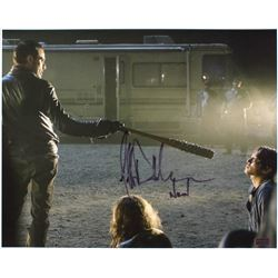 "Jeffrey Dean Morgan Signed ""The Walking Dead"" 16x20 Photo Inscribed ""Negan"" (Radtke COA)"