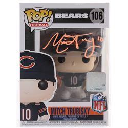 Mitchell Trubisky Signed Chicago Bears #106 Funko Pop! Vinyl Figure (Fanatics Hologram)