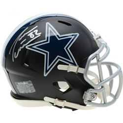 Jason Witten Signed Dallas Cowboys Matte Black Mini Speed Helmet (Fanatics Hologram)