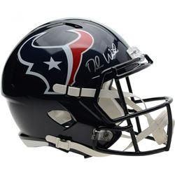 Deshaun Watson Signed Houston Texans Full-Size Speed Helmet (Fanatics Hologram)