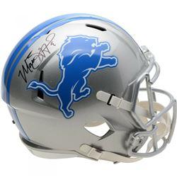 Matthew Stafford Signed Detroit Lions Full-Size Speed Helmet (Fanatics Hologram)