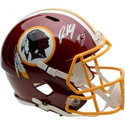 Dwayne Haskins Signed Washington Redskins Full-Size Speed Helmet (Fanatics Hologram)