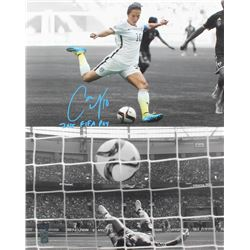 "Carli Lloyd Signed Team USA 16x20 Photo Inscribed ""2015 FIFA POY"" (Radtke COA  Lloyd Hologram)"