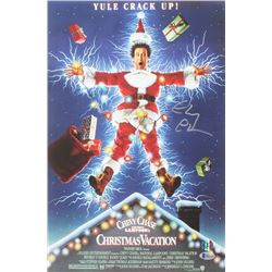 """Chevy Chase Signed """"National Lampoon's Christmas Vacation"""" 12x18 Photo (Beckett  Chase Hologram)"""