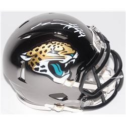 Myles Jack Signed Jacksonville Jaguars Chrome Speed Mini Helmet (Radtke COA)