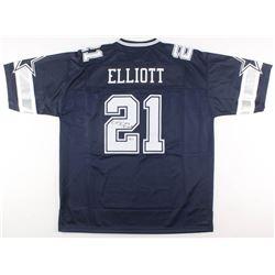 Ezekiel Elliott Signed Dallas Cowboys Jersey (Beckett COA)