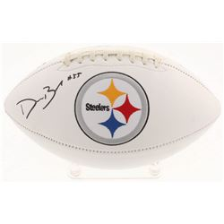 Devin Bush Jr. Signed Pittsburgh Steelers Logo Football (Radtke COA)