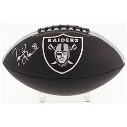 Tim Brown Signed Oakland Raiders Logo Football (Radtke COA)