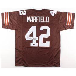 "Paul Warfield Signed Cleveland Browns Jersey Inscribed ""HOF 83"" (Radtke COA)"