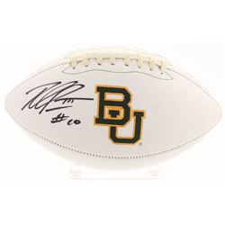 Robert Griffin III Signed Baylor Bears Logo Football (Radtke COA)