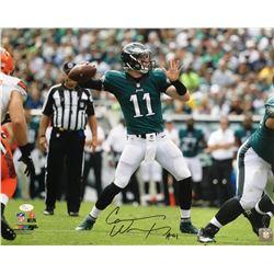 "Carson Wentz Signed Philadelphia Eagles 16x20 Photo Inscribed ""AO1"" (JSA COA)"
