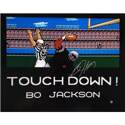 "Bo Jackson Signed ""Tecmo Bowl"" 16x20 Photo (Steiner Hologram)"