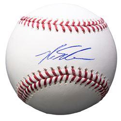 Kyle Schwarber Signed OML Baseball (Beckett COA)