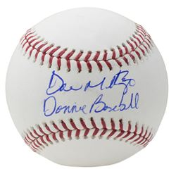 "Don Mattingly Signed OML Baseball Inscribed ""Donnie Baseball"" (JSA COA)"