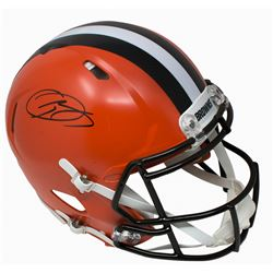 Odell Beckham Jr. Signed Cleveland Browns Authentic Full-Size On-Field Speed Helmet (JSA COA)