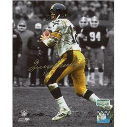 Terry Bradshaw Signed Pittsburgh Steelers 8x10 Photo (Radtke COA)