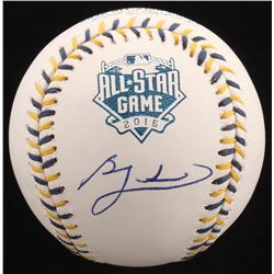 Ben Zobrist Signed 2016 All-Star Game Baseball (PSA Hologram)