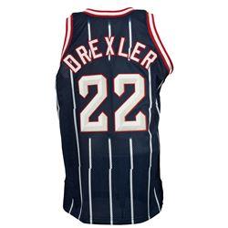 Clyde Drexler Game-Used Houston Rockets Jersey (Worthridge LOP)