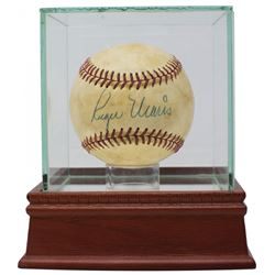 Roger Maris  Sadaharu Oh Signed FSL Baseball with Display Case (PSA LOA)
