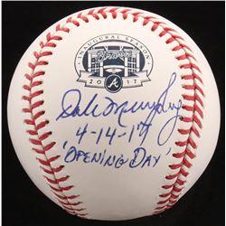 "Dale Murphy Signed LE OML ""SunTrust Park Opening Day"" Logo Baseball Inscribed ""4-14-17 'Opening Day'"
