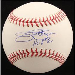 """Jim Palmer Signed OML Baseball Inscribed """"HOF 90"""" (Radtke COA)"""