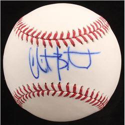 Christian Bethancourt Signed OML Baseball (MLB Hologram)