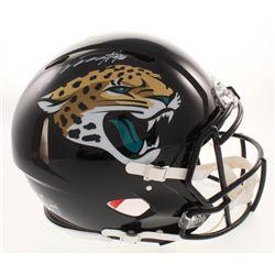 Myles Jack Signed Jacksonville Jaguars Full-Size Authentic On-Field Speed Helmet (Radtke COA)