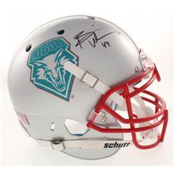 Brian Urlacher Signed New Mexico Lobos Full-Size Authentic On-Field Helmet (Radtke COA)