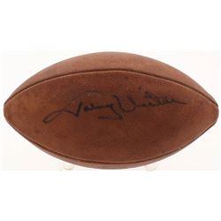 """Johnny Unitas Signed """"The Duke"""" Youth Football (Beckett LOA)"""
