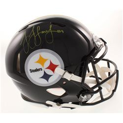 JuJu Smith-Schuster Signed Pittsburgh Steelers Full-Size Authentic On-Field Speed Helmet (Radtke COA