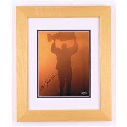 Mark Messier Signed Edmonton Oilers 14x17 Custom Framed Photo (Steiner COA)