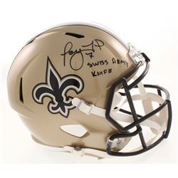 """Taysom Hill Signed New Orleans Saints Full-Size Speed Helmet Inscribed """"Swiss Army Knife"""" (Radtke CO"""