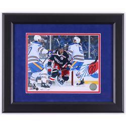 J. T. Miller Signed New York Rangers 2018 Winter Classic 13x16 Custom Framed Photo Display (Steiner