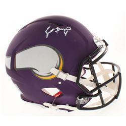 Brett Favre Signed Minnesota Vikings Full-Size Authentic On-Field Speed Helmet (Radtke COA)