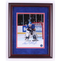 Dominik Hasek Signed Buffalo Sabres 13x16 Custom Framed Photo (AJ's Sports World COA)