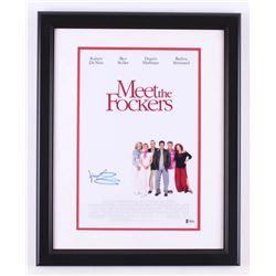 """Ben Stiller Signed """"Meet the Fockers"""" 16x20 Custom Framed Photo (Beckett COA)"""