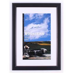"Gene Hackman Signed ""Hoosiers"" 16.5x22.5 Custom Framed Photo (Steiner COA)"