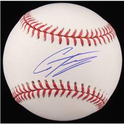 Gleyber Torres Signed OML Baseball (Beckett COA)