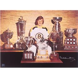 Bobby Orr Signed Bruins 24x18 Photo (Orr COA)