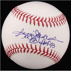 """Reggie Jackson Signed OML Baseball Inscribed """"HOF 93"""" (Jackson COA)"""