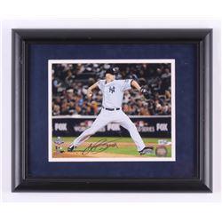 A. J. Burnett Signed New York Yankees 13x16 Custom Framed Photo Display (Steiner COA  MLB Hologram)
